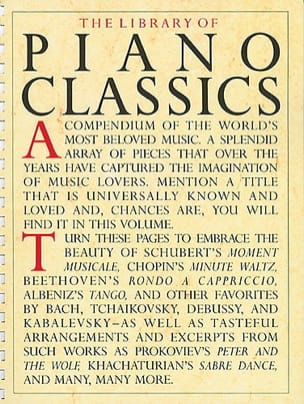 The Library Of Piano Classics Volume 1 - laflutedepan.com