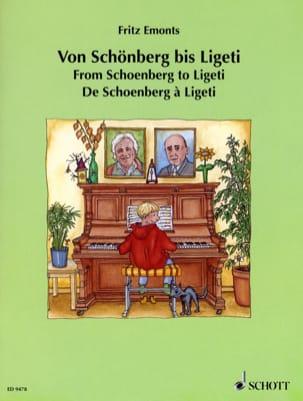 Von Schoenberg Bis Ligeti - Partition - Piano - laflutedepan.com