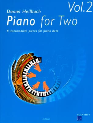 Piano For 2 Volume 2. 4 Mains - Daniel Hellbach - laflutedepan.com