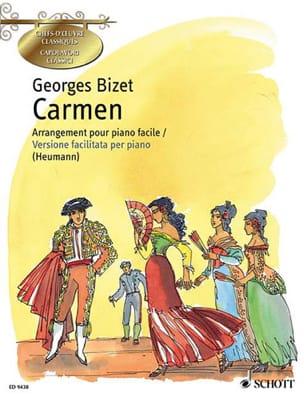 Georges Bizet - Carmen. Piano - Partition - di-arezzo.fr