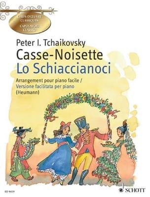 Le Casse-Noisette Opus 71. Piano TCHAIKOVSKY Partition laflutedepan