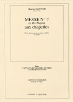 Charles Gounod - Brief Mass N ° 7 In C Major - Sheet Music - di-arezzo.com