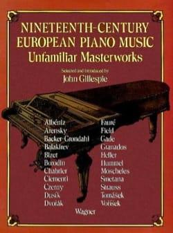 19th Century European Piano Music Partition Piano - laflutedepan