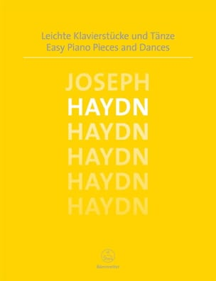 Easy Piano Pieces and Dances - Joseph Haydn - laflutedepan.com