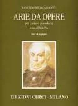 Saverio Mercadante - Arie Da Opere Baryton - Partition - di-arezzo.fr