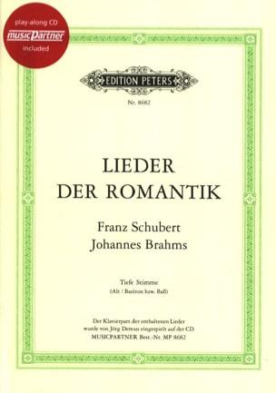 SCHUBERT - Lieder Der Romantik. Deep voice - Sheet Music - di-arezzo.com