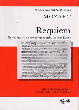 MOZART - Requiem K 626 - Partition - di-arezzo.fr