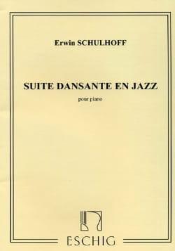 Erwin Schulhoff - Suite Dansante En Jazz 1931 - Partition - di-arezzo.fr