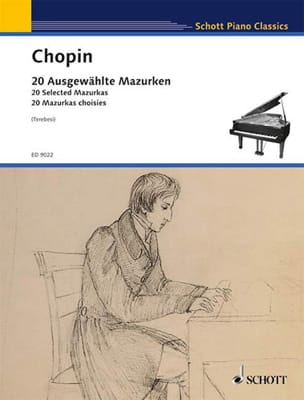 CHOPIN - 20 Mazurkas Choisies - Partition - di-arezzo.fr