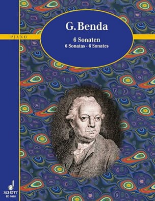 6 Sonates - Georg Benda - Partition - Piano - laflutedepan.com