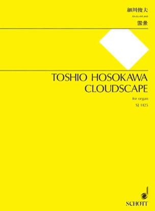 Toshio Hosokawa - Cloudscape - Partition - di-arezzo.fr