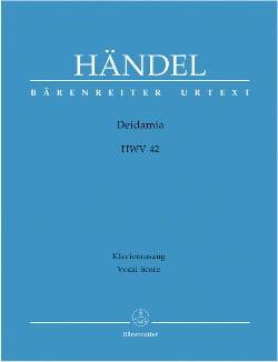 Georg-Friedrich Haendel - Deidamia. HWV 42 - Partition - di-arezzo.fr