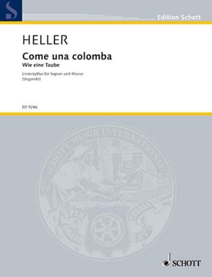 Barbara Heller - Come Una Colomba - Partition - di-arezzo.fr