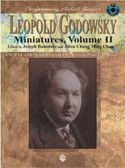 Miniatures, Volume 2 - 4 Mains Leopold Godowsky Partition laflutedepan