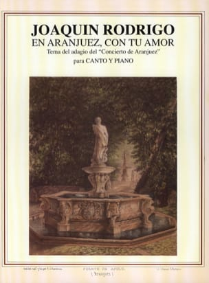 En Aranjuez, Con tu Amor - Joaquin Rodrigo - laflutedepan.com