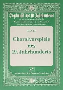 Choralvorspiele des 19 Jahrhunderts - Partition - di-arezzo.fr