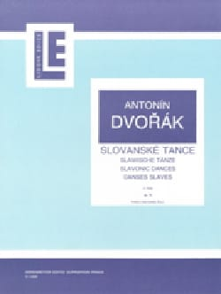 Danses Slaves Opus 72 DVORAK Partition Piano - laflutedepan