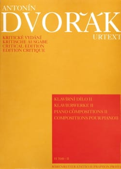 Anton Dvorak - Piano Compositions Volume 2 - Partition - di-arezzo.fr