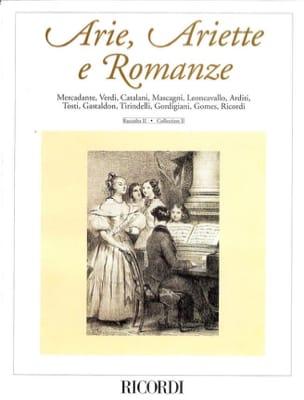 Arie, Ariette et Romanze Volume 2 - Partition - laflutedepan.com