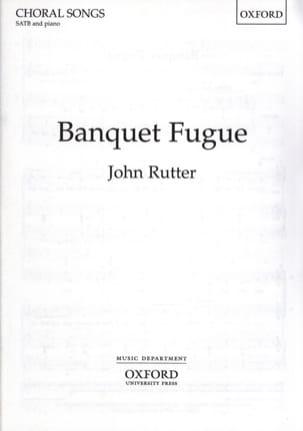 John Rutter - Fugue Banquet - Sheet Music - di-arezzo.co.uk