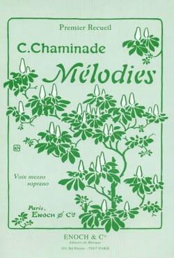 Mélodies Volume 1. Voix Moyenne Cécile Chaminade laflutedepan