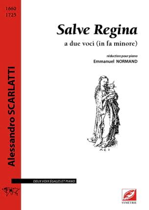 Alessandro Scarlatti - Salve Regina - Partitura - di-arezzo.es