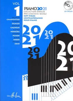 Piano 20-21 Volume 1 genevieve Ibanez Partition Piano - laflutedepan