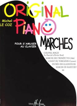 Original Piano Marches - Coz Michel Le - Partition - laflutedepan.com