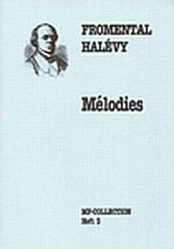 Fromental Halévy - Mélodies Vol 3 - Partition - di-arezzo.fr