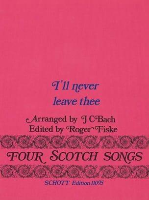 I'll Never Leave Thee - Johann Christian Bach - laflutedepan.com