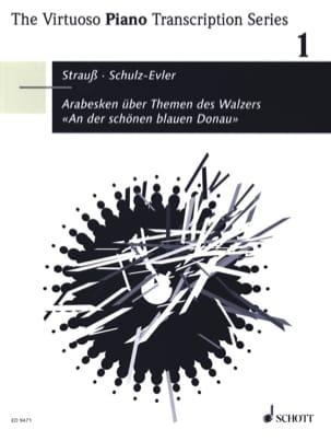 Arabesque sur le Thème Du Beau Danube Bleu STRAUSS (fils) laflutedepan