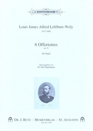 Louis-James-Alfred Lefébure-Welly - 6 Offertoires Opus 35 - Partition - di-arezzo.fr