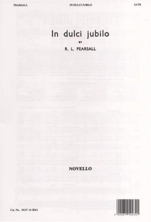 In Dulci Jubilo - Robert Pearsall - Partition - laflutedepan.com