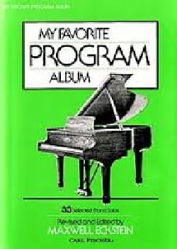 - My Favorite Program Album - Sheet Music - di-arezzo.co.uk