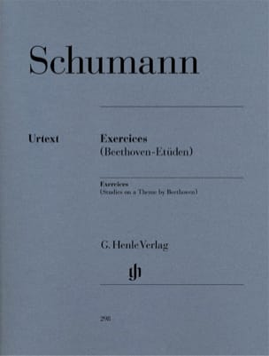 SCHUMANN - Exercises - Studies in Form of Free Variations on a Beethoven Theme - Sheet Music - di-arezzo.co.uk
