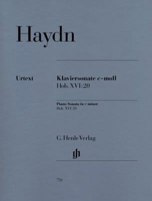 Joseph Haydn - Sonate Pour Piano En Do Mineur Hob 16-20 - Partition - di-arezzo.fr