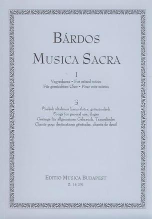Lajos Bardos - Musica Sacra 1 Volume 3 - Sheet Music - di-arezzo.co.uk
