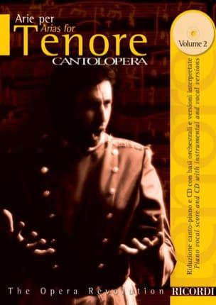 Arie Per Tenore Volume 2 Partition Opéras - laflutedepan