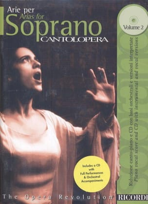 - Arie Per Soprano Volume 2 - Sheet Music - di-arezzo.co.uk