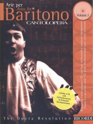 - Arie Per Baritono Volume 2 - Partition - di-arezzo.fr