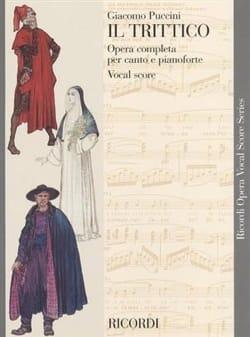 Giacomo Puccini - Il Trittico - Sheet Music - di-arezzo.co.uk