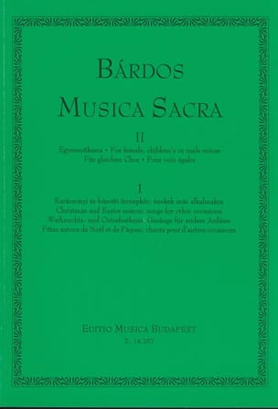 Lajos Bardos - Musica Sacra Volume 2 - Sheet Music - di-arezzo.co.uk