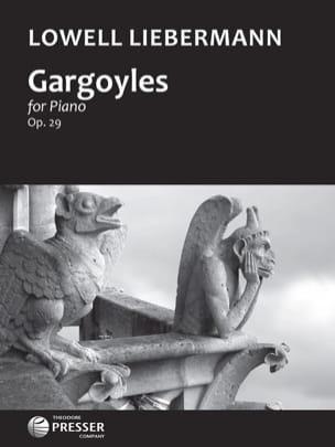 Gargoyles Op. 29 Lowell Liebermann Partition Piano - laflutedepan