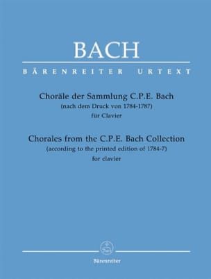Jean-Sébastien Bach - Choräle Der Sammlung Cpe - Partition - di-arezzo.fr