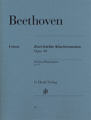 BEETHOVEN - Sonatas Opus 49-1 and 49-2 - Sheet Music - di-arezzo.co.uk