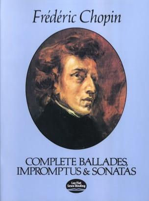 CHOPIN - Complete Ballads, Impromptus and Sonatas - Sheet Music - di-arezzo.com