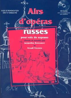 Bonnardot Jacqueline / Volodos Arcadi - Airs D'opéras Russes, Soprano - Partition - di-arezzo.fr