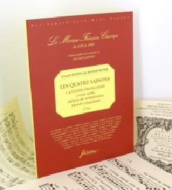 de Boismortier Joseph Bodin - Les 4 Saisons Opus 5 - Partition - di-arezzo.fr