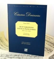 8 Variations Pour le Pianoforte Op. 1 - Franz Liszt - laflutedepan.com