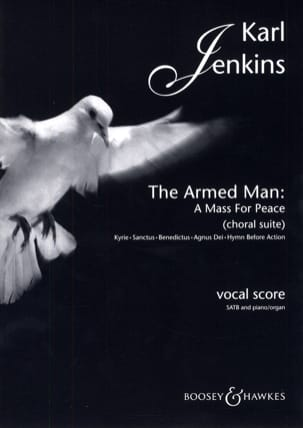 The Armed Man - Karl Jenkins - Partition - Chœur - laflutedepan.com